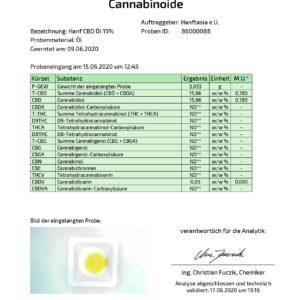 Premium CBD Öl 15% in Hanföl (10ml ,20ml)