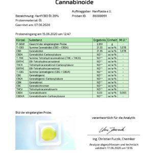 Premium CBD Öl 20% in Hanföl (10ml ,20ml)