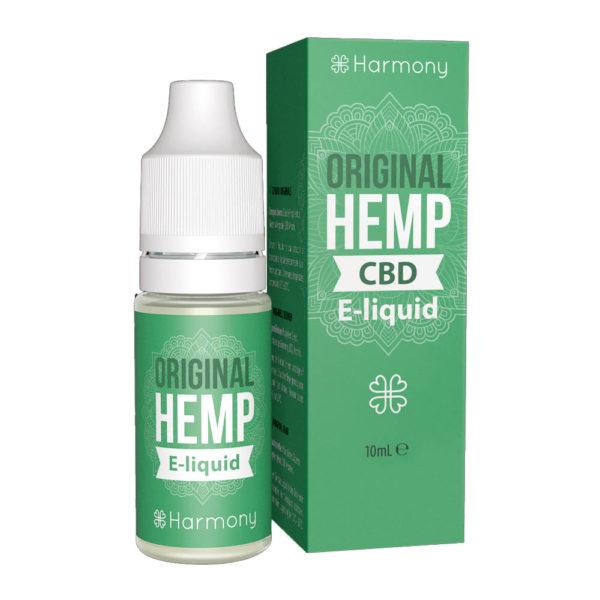 CBD E-Liquid Harmony Original Hemp (10ml | 0,3-6% CBD)