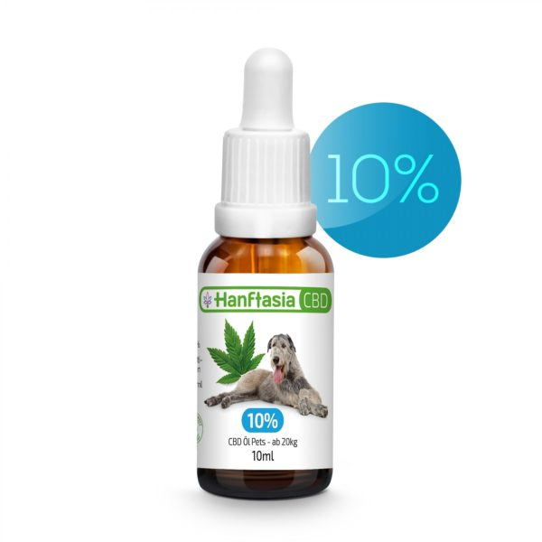 Premium CBD Öl 10% für Hunde bis 50kg