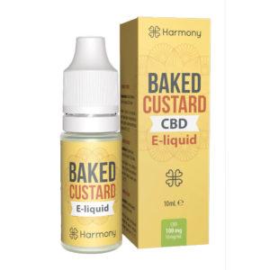Harmony CBD E-Liquid Baked Custard (10ml | 0,3-6% CBD)