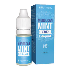 CBD E-Liquid Harmony Moroccan Mint (10ml | 0,3-6% CBD)