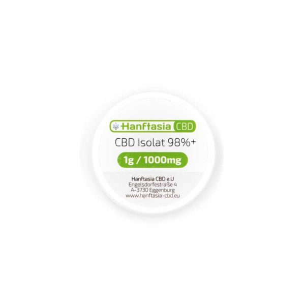 CBD Isolat 98% 1 Gramm- Reines CBD Kristall