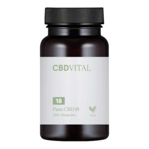 CBD Vital Pure CBD 10% Kapseln (60 Kapseln)