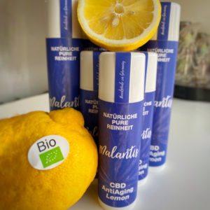 CBD Anti-Aging-Creme Lemon 0,5% – Anti-Falten-Creme mit CBD