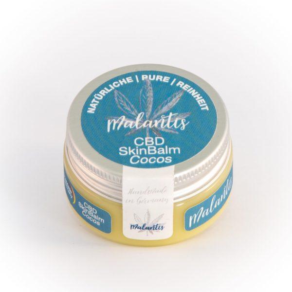 CBD Balm Cocos 0,5% – Biokosmetik Salbe mit CBD