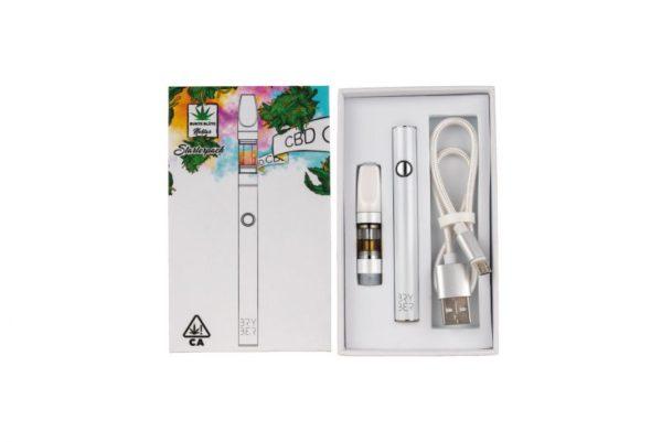 CBD Pen: Starterpack mit Super Silver Haze Vape 27%