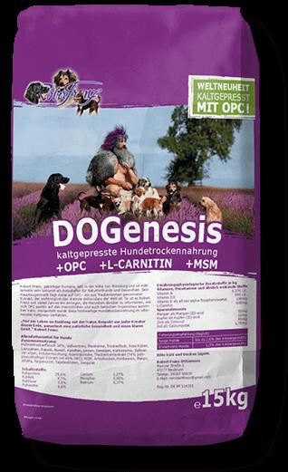 DOGenesis 15kg Trockenfutter für Hunde mit OPC (Robert Franz)