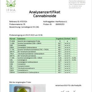 Premium Cannabigerol CBG-Öl Tropfen 5%